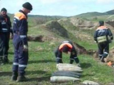 Chechnya clears unexploded mines
