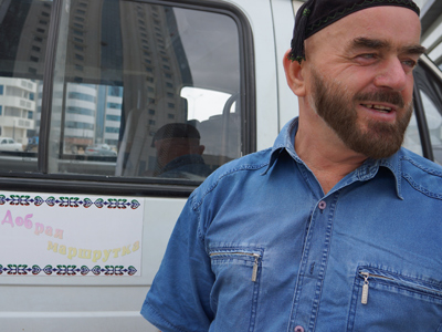 'The first people of freedom': Courageous share taxi driver recalls life in Chechen warzone