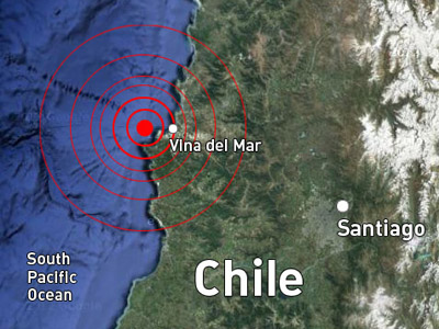 Powerful 6.7 earthquake shakes central Chile