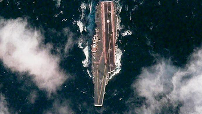 Naval disparity: China's 1st aircraft carrier almost online