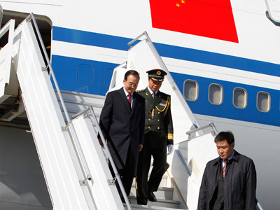 China seeking piece of Arctic pie