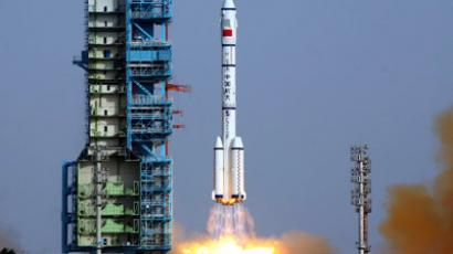 China launches its longest manned mission to experimental space station