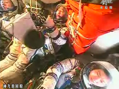 Soyuz delivers new crew to ISS