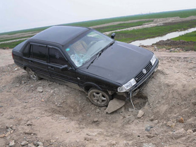 Drunk Chinese couple buries car-hit victim alive - police