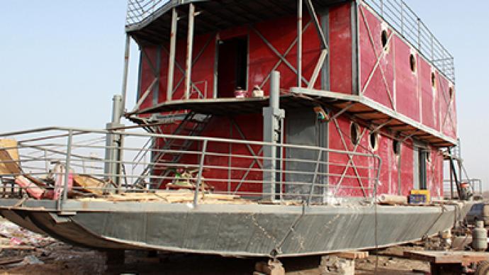 Chinese man blows life savings on ark to escape Apocalypse (PHOTOS)