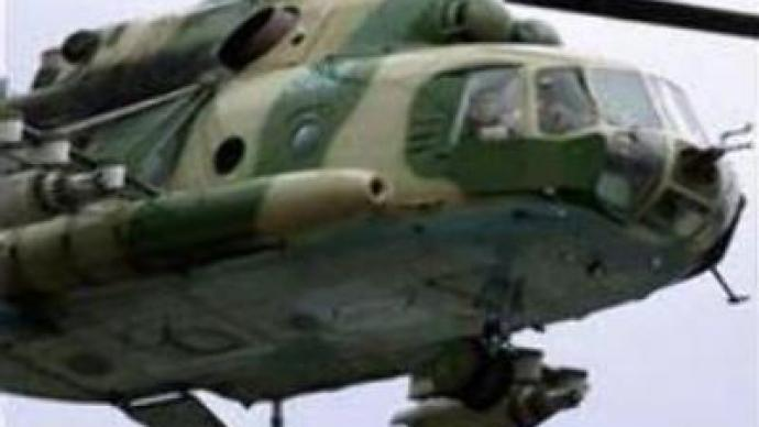 Chopper crash site in Chechnya investigated