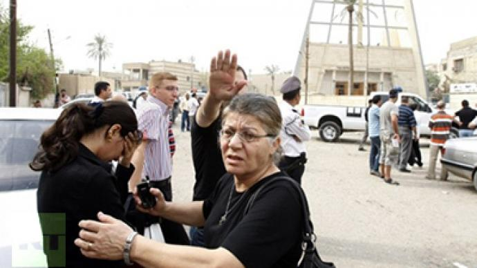 ­Deadly Baghdad church siege overshadows US pullout
