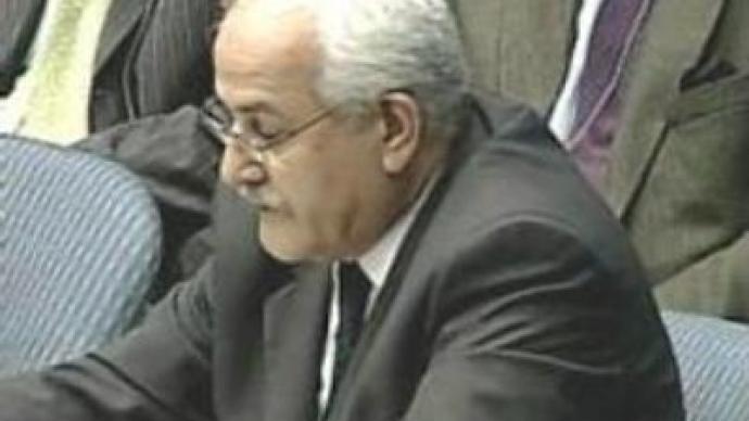 Civilian deaths: envoy condemns Israel 'state terror'