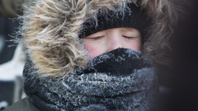 Cold as Christmas: Emergency in Siberia, chilliest night in Moscow (PHOTOS)