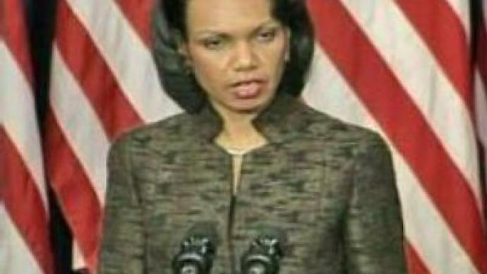 Condoleezza Rice: Washington not to give up missile defence system plans