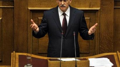 Greek PM agrees to resign