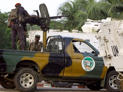 Recognized Ivorian president's forces launch assault on Gbagbo's bunker