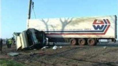 Crash in central Russia claims 13 lives