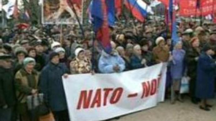 Crimea says 'no' to NATO