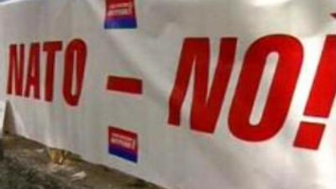 "Crimean resort celebrates ""victory over NATO deployment"""