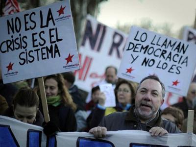 Labor rage: Arrests as General Strike locks Spain (PHOTOS, VIDEO)