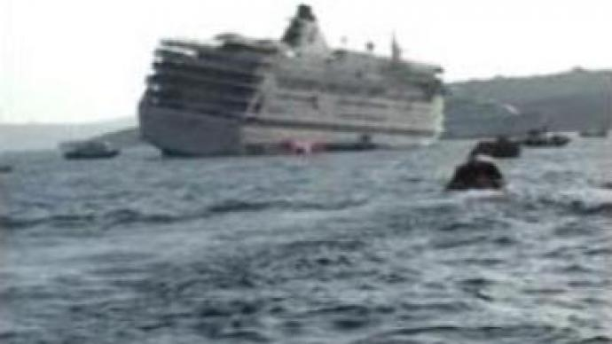 Cruise ship evacuated in Aegean Sea