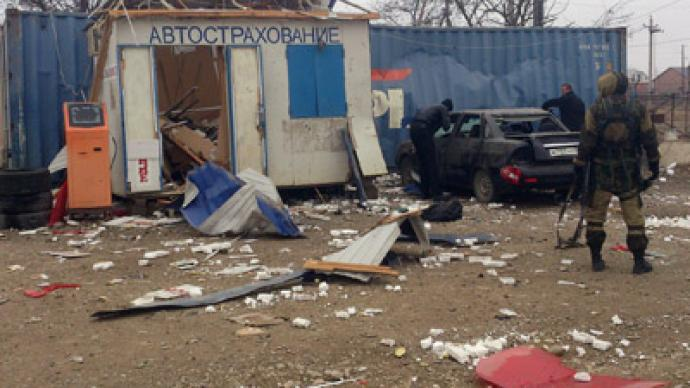 Dagestan suicide bombing kills 4 road police, injures 5