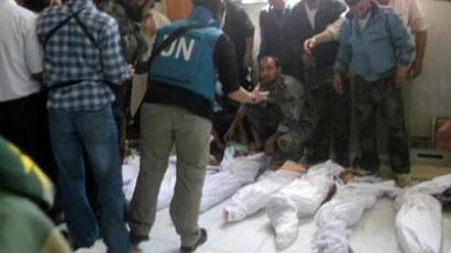 Damascus finds armed groups responsible for Houla massacre, US does not believe