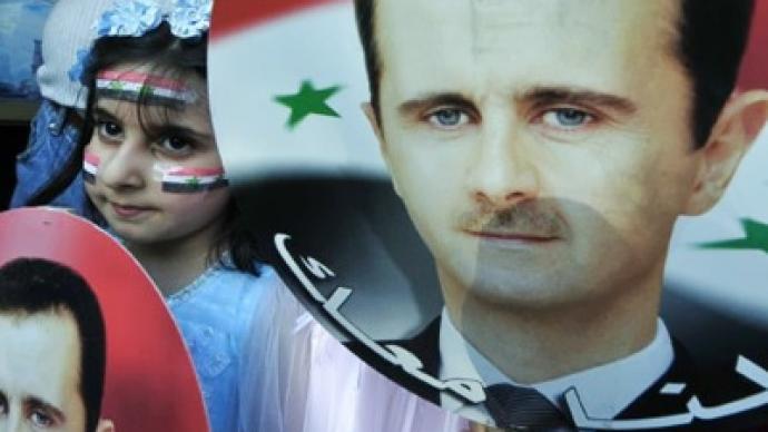 Washington begins war of words against Damascus