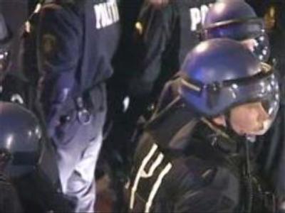 Danish police make more arrests to calm violence