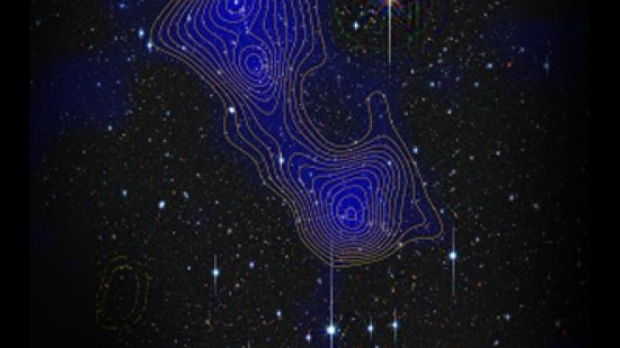 Dark matter space superstructures observed for first time