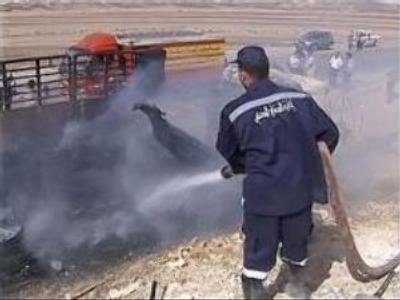 9 dead from plane crash in Sinai desert