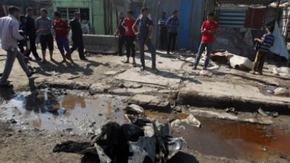 27 killed after suicide car bomb strikes Shiite pilgrim procession in Iraq