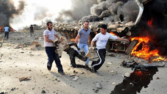 Deadly blast rocks Syrian capital