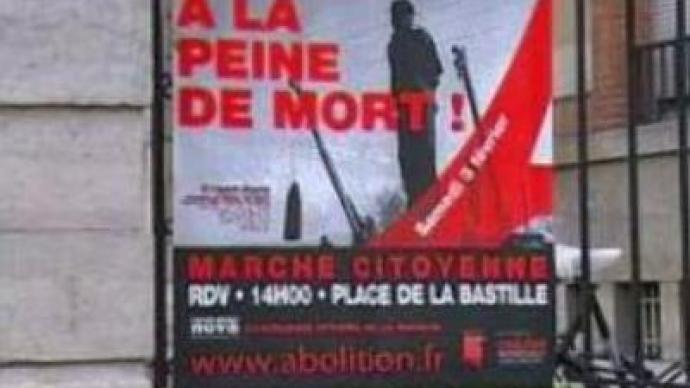 Death penalty abolition discussed in Paris