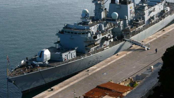 British Royal Navy to send frigate to Libya to boost defense sales