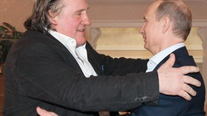 Depardieu eyes making 'big film' in Russia's Chechen Republic