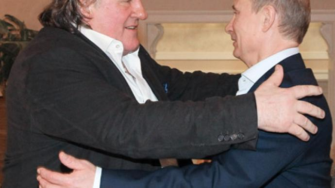 Tax exile: President Putin gives Depardieu a Russian passport
