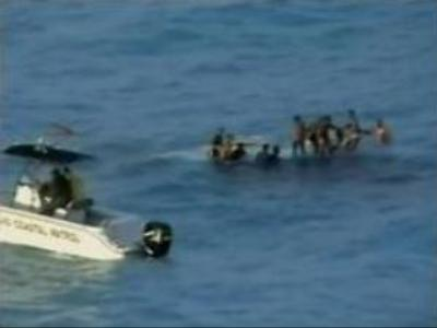 20+ die after vessel overturns in Atlantic