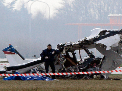 Private jet smashes into Indiana suburb killing two