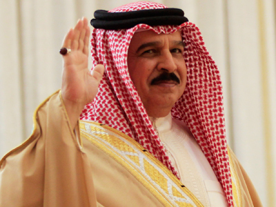 Guess who's coming to dinner? King of protest-hit Bahrain at Windsor Castle