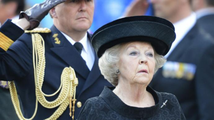 Dutch Queen Beatrix abdicates in favor of her son