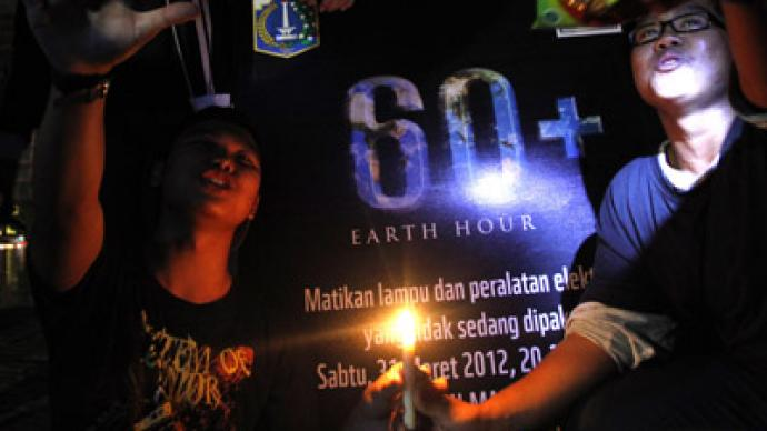 Earth Hour: LIVE UPDATES (PHOTOS)