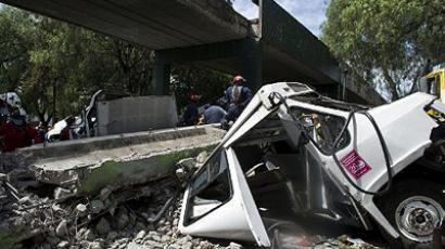 Buildings collapse as 800 homes damaged by violent Mexico quake (VIDEO, PHOTOS)