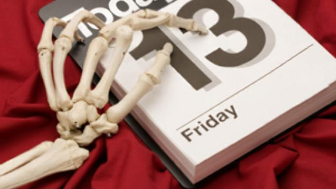Economic crisis to worsen with three Fridays 13 in a year?