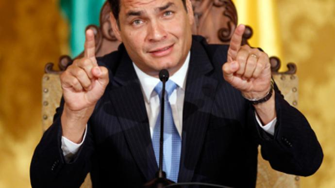 Ecuadorian president warns of possible 'CIA attack' before elections