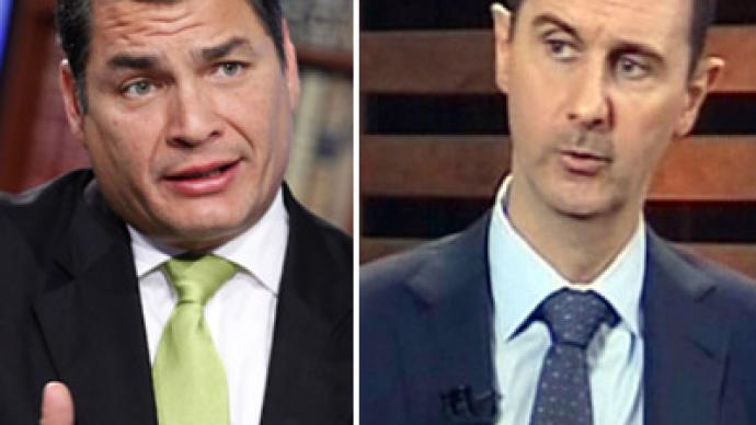 Ecuador may consider political asylum for Syria's Assad