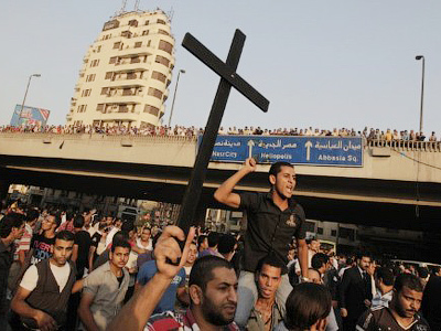Religious riots test mettle of Egyptian regime