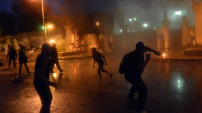 Egypt on edge after riot police beat naked protester (VIDEO)