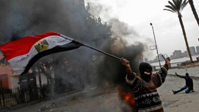 At least one killed as Cairo police disperse protesters, beating anyone they can catch - reports