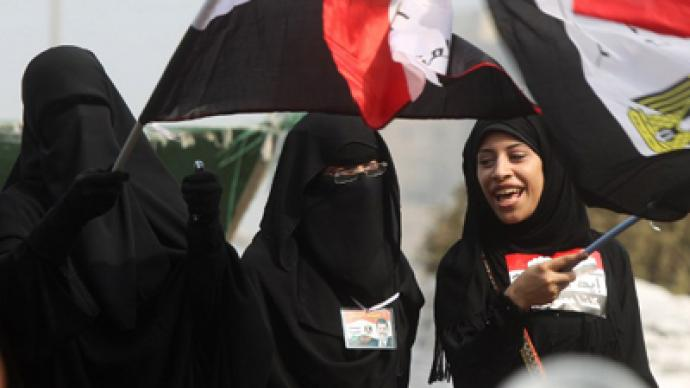 Egyptian woman runs for chairmanship of Muslim Brotherhood's political wing