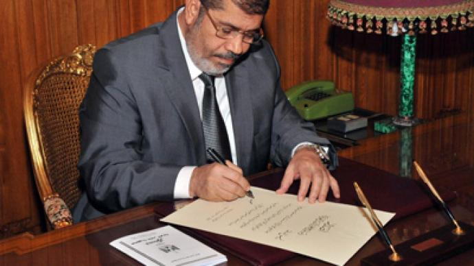 'New constitution protects freedom, paves the way for democracy' – Morsi
