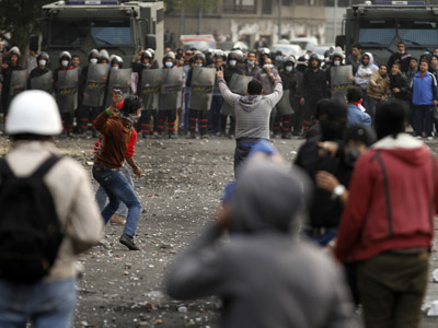One dead, 26 injured as protests sweep Egypt