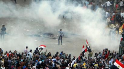 200,000 Egyptians protest as 'Pharaoh' Morsi digs heels in over power grab (VIDEO)