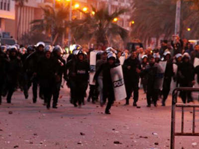 At least three killed, 12 wounded as Cairo protesters clash with police over killed resident